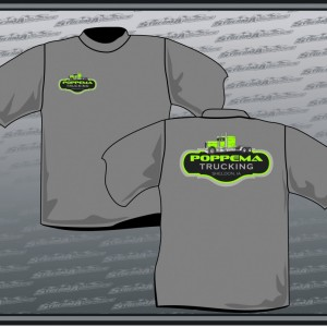 Poppema Trucking - Sybesma Graphics ( Shirt Gallery )