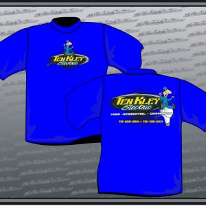 TenKley Electric - Sybesma Graphics ( Shirt Gallery )